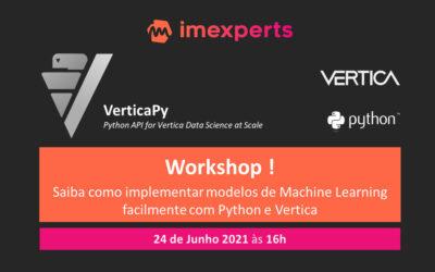 Workshop ! Como implementar modelos de Machine Learning com Python e Vertica